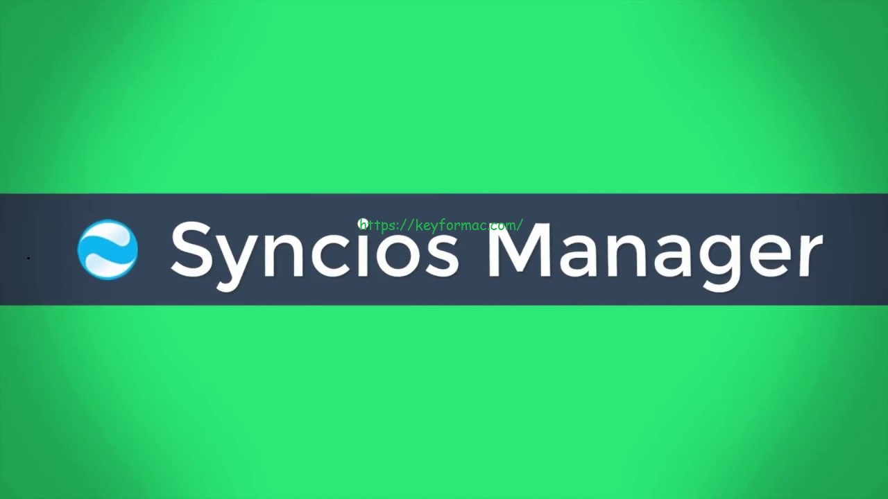 SynciOS Manager 7.0.3 Crack With Registration Code 2020 [Latest Version] Download