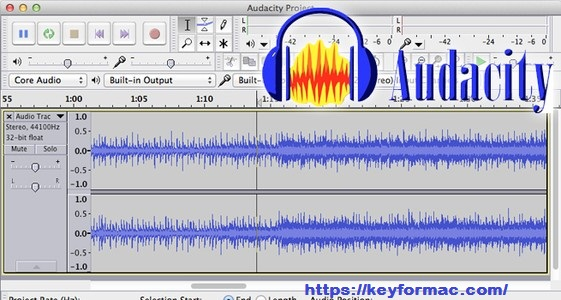 Audacity 2.4.2 Crack Mac 2021 With Serial Key + Keygen [Full Version] Download