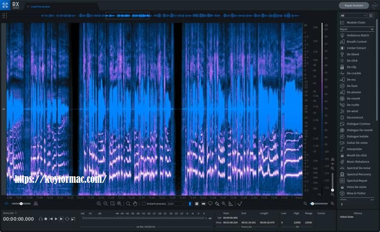 iZotope RX 8 Advanced Audio Editor 8.1.0 Crack Plus Serial Number Free Download