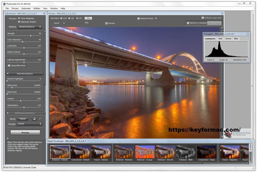 Photomatix Pro 6.2.1 Crack With License Key Free Download