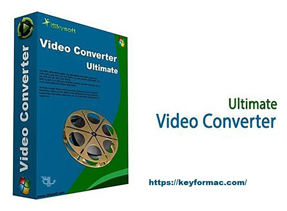 iSkysoft Video Converter 11.7.4.1 Crack + Registration Code Free Download