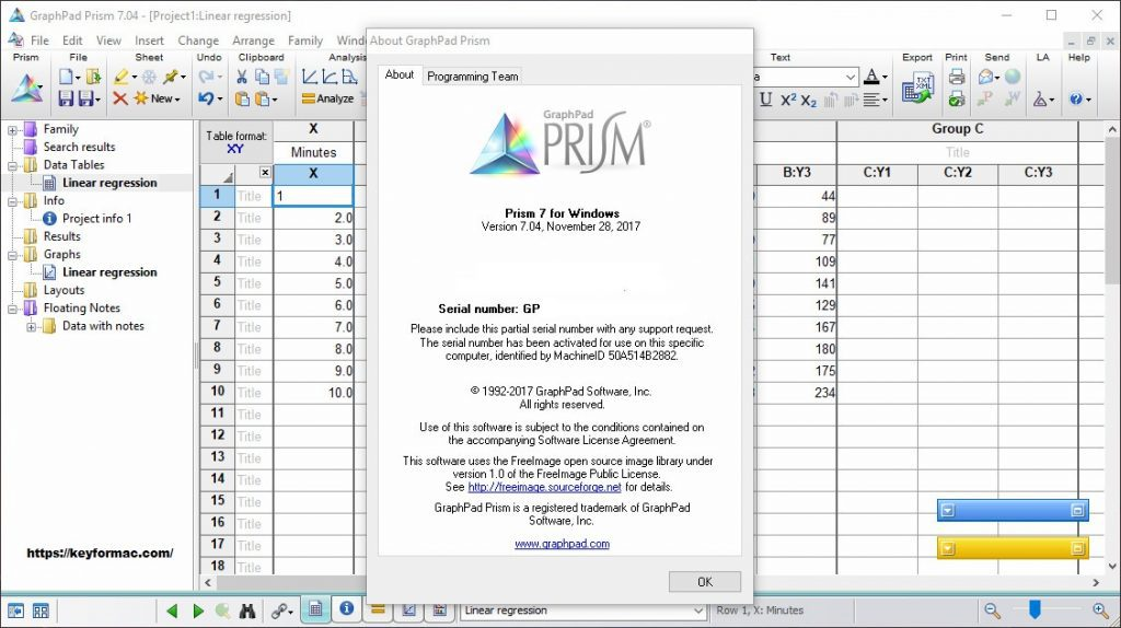 Graphpad Prism 7.0 Crack With Serial Number Full Version Download