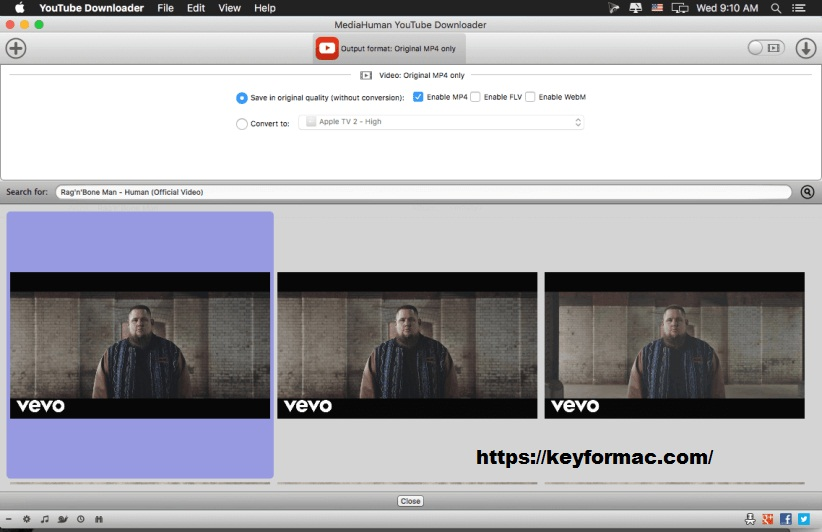 MediaHuman YouTube To MP3 Converter 3.9.9.53 Crack Free Download