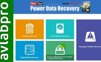 MiniTool Power Data Recovery 9.2 Crack + Activation Key Free Download