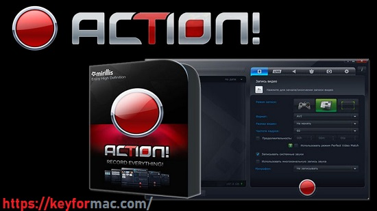Mirillis Action! 4.21.4 Crack With Activation Key Free Download