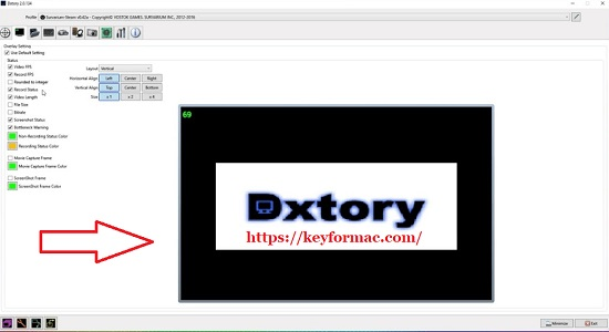 Dxtory 2.0.142 Crack With License Key Free Download 2022