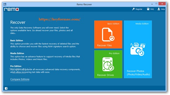 Remo Recover 5.0.0.59 Crack + Activation Key Free Download 2022